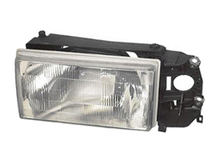 Volvo 740 940 1990- 1992  headlight assembly complete  Left side. Cars without fog lights next to the grille 1369603