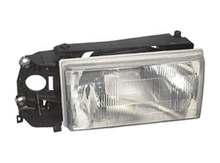 Volvo 740 940 1990-1992 headlight assembly complete Right side. Cars without fog lights next to the grille 1369604
