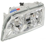 Volvo S40/V40 2000-2001, Left side/Drivers side, Headlight assembly complete 30865267