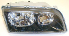 Volvo S40/V40 2002-2004 (Black Bezel) Right side/Passengers side, Headlight assembly complete 30896587