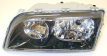Volvo S40/V40 2002-2004 (Black Bezel) Left side/Drivers side, Headlight assembly complete 30896586