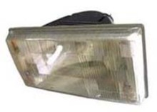 Volvo 740, 940, Headlight lens and housing (Capsule) for Left side/Drivers side 3534193