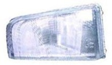 Volvo 850 1993-1994(1/2), Headlight lens only (glass) Left side/Drivers side 3512693