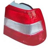 Volvo Sedan 960, S90, Tail light assembly with clear turn signal for Left side/Driver side 9126962