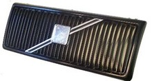 Volvo 240, Grille assembly Black with Black molding and no crossbar or emblem 1312790