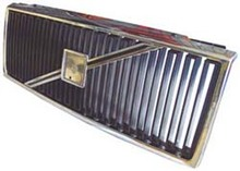 Volvo 740, 940, Grille assembly Chrome with Chrome molding 3518884