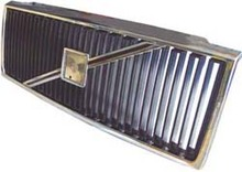 Volvo 940, Grille assembly Black with Chrome molding 9152527