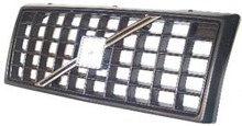 Volvo 940, 760, 940, 960, Grille assembly EGGCRATE with Black molding 3518656