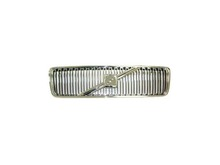 Volvo S80 1999-2003, Grille assembly Chrome with Chrome molding and no crossbar or emblem 9154736