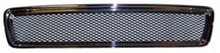 Volvo S40/V40, Grille assembly Chrome frame with Black wire mesh. 30803301MC