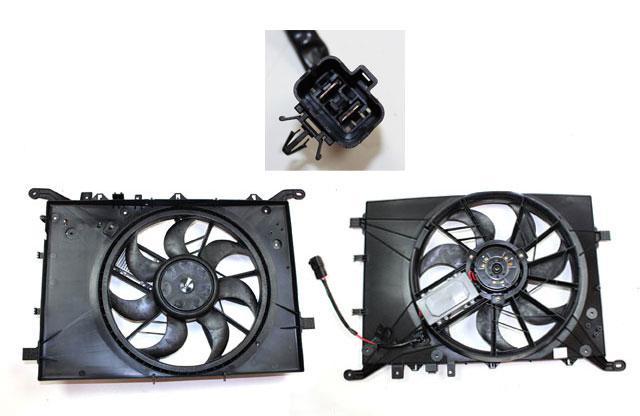Volvo S60, S80, V70XC, Radiator fan motor 30680547