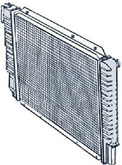 Volvo 960, S90, V90, Radiator new 8603739