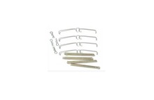272691, Volvo 240 Hardware Kit Front