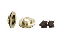270739,271739 Volvo 240 Rotors and Pad Combo Front