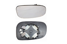 PASSENGER SIDE EURO STYLE CONVEX MIRROR WITH HEAT & BACK PLATE FOR VOLVO C30 C70 S40 S60 S80 V50 V70