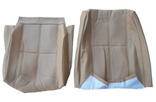 Volvo 240 Vinyl Seat Cover. Beige. 3 Double-Stitched Lines. 1295012 1360331  color code 5127
