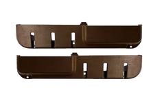 Volvo 240 front door map pocket set BROWN pair LH+RH. [Black and Blue Also Available]