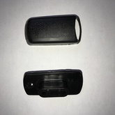 VOLVO 240 grab handle end cover and base kit - Black