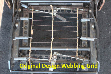 Volvo 240 242 244 245 Front Lower Seat Support Webbing