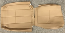 Volvo 240 Vinyl Seat Cover. Beige. 3 Single-Stitched Lines. Color code 5127