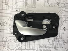 30761317 Volvo XC90 interior door handle