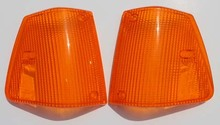 PAIR Turn Signal for Volvo 240 1986-1993 US MARKET ALL AMBER Turn signal lens lense cover