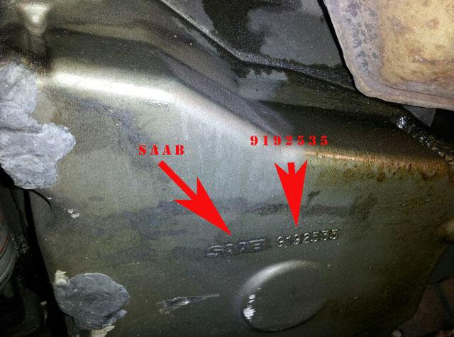 Saab 9 3 900 1994 2003 4 Cyl Engine Oil Pan New Swedish